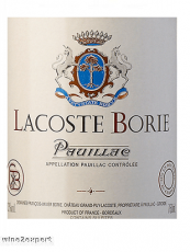 Lacoste Borie Pauillac 2016