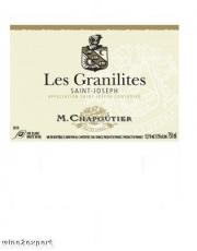 Maison Chapoutier Saint-Joseph Les Granilites 2010