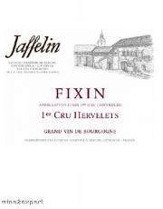 Jaffelin Fixin 1er Cru Hervelets  Rouge 2014