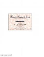 Maison Chapoutier Muscat de Beaumes de Venise 1996   0,5L Flasche