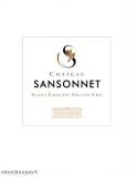 Chateau Sansonnet Grand Cru Classé 2017