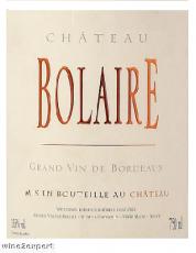 Chateau Bolaire 2016 Bordeaux Supérieur