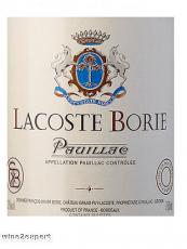 Lacoste Borie  Pauillac 2018