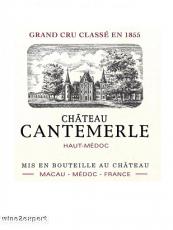 Chateau Cantemerle Grand Cru Classé 2007