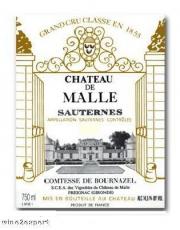Chateau de Malle Grand Cru Classé 2009