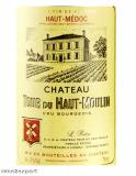ChateauTour du Haut Moulin Cru Bourgeois  Haut-Médoc 2014