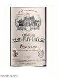 Chateau Grand Puy Lacoste Grand Cru Classé  2004