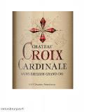 Chateau Croix Cardinale St. Emilion Grand Cru 2015