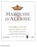 Chateau Marquis DAlesme Grand Cru Classe 2018