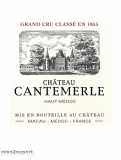 Chateau Cantemerle Grand Cru Classé 2007