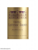 Chateau Cantenac Brown Grand Cru Classé 2015
