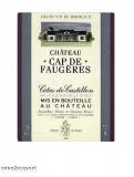 Chateau Cap de Faugeres 2004